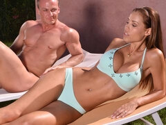 Let It Rain Over Me - Czech Chick Gets Fucked Hardcore Outdoors