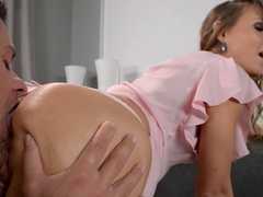 Anus Couch - Anal Sex On Brandnew Couch Makes Young Russian Orgasm