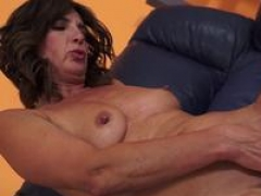 Euro aged spoon fucked after blowjob
