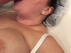 curvy BBW fucking and sucking