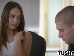 Tushy Dark Hair Sara Luvv Copulated In The Rear End - ANALDIN