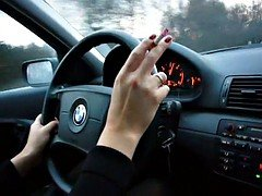 hot mom i`d like to fuck smoking in car
