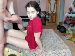 pretty girlfriend humped by her boyfriend