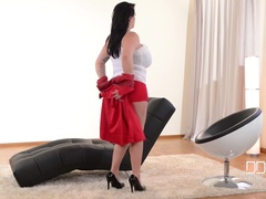 Curvaceous Avocation: Busty Secretary's Major Task