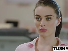 TUSHY Lana Rhoades Puts On An Backdoor Show