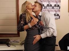 Overtime At The Office Abbey Brooks