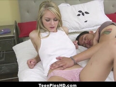 Sizzling Teenage Sister-In-Law Internal Ejaculation