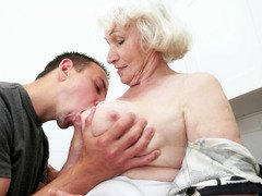 Porky grown-up granny is getting her wet cunt fucked truly hard