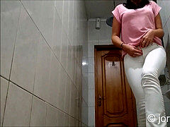 urinating girls in toilet compilation two
