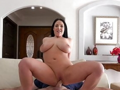 PropertySex - Big-breasted real estate agent Angela White fucking