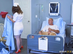 Hot nurse Lily Love does wonders to patient Sean Lawless
