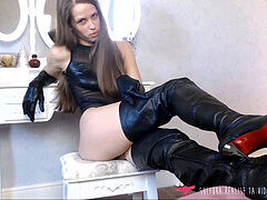French domina JOI