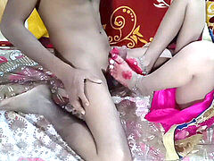 Indian married bhabhi very first night bang-out