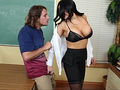 Melons Teacher Fucks Her Big-Dick Student at the Office