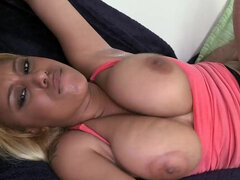Princess London's huge tits & ass jiggle while being fucked