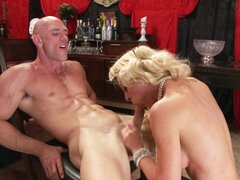 Toy loving Milf takes on a real throbbing sausage