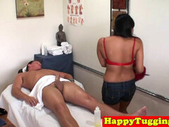 chinese massage hj caught on hiddencam