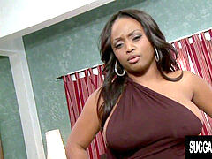 Well gifted Chocolate goddess Jada Fire Gets Her ebony Pussy Railed