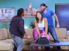 Brazzers - Brazzers Exxtra - Abella Danger Charles Dera and plus Tommy Gunn -  Sybian Gamer Girl