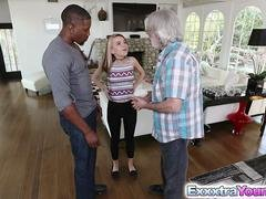 Inexperienced legal teen Alina West has an intercourse with a black guy