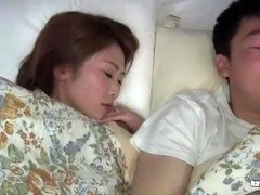 japanese wife cheating with step son 1