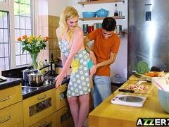 Pretty Carly Rae gets down and dirty with bf in the kitchen