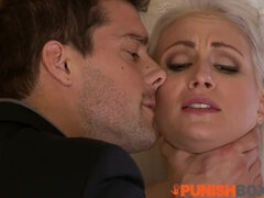 Punishbox -Blond Hair Girl Bride gets put in her place