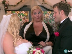 Mom bride Samantha 38G My Big Plump Wedding - hardcore with cumshot