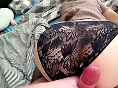 backside bum - internal ejaculation and Sperm on Ass Compilation