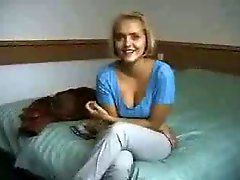 High School Youthful Blond Virgin Seduced