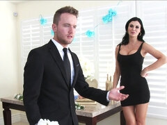 Jasmine Jae gets some rebound dick in her mouth & pussy at bff's wedding