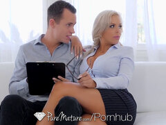 PUREMATURE cougar Real Estate Agent porks To Seal The Deal