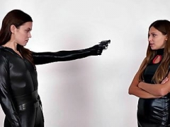 Superheroine Catfight Knockouts Sentries