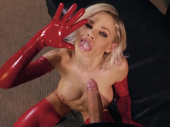 Incredible beauty Jessa Rhodes with perfect boobs gets banged