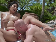 Pounding The Pool Boy