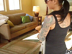inked woman Christy Mack gets romped