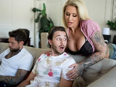 Lucas Frost can't believe how hot his friend's busty stepmom, Ryan Conner, is. She's got curves in all the right places – unfortunately, she's also of