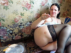 vegetables and cream eat ginormous caboose buxomy milf. farting