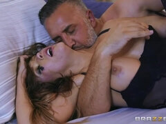 Keiran Lee makes stunning Megan Rain moan with his cock