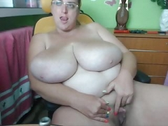 Large tits huge clit web camera