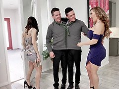 RichElle Ryan and Alana Cruise unearth some kinky four way act - alpha sex