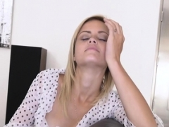 Blonde 18-19 y.o. Madison Hart pounded hard by her stepdad