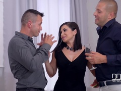 Deepthroating Dinner Party - Group Sex Smorgasbord
