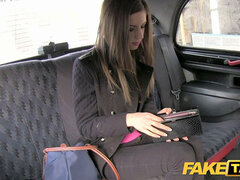 FakeTaxi virginal college girl does backseat ass-fuck