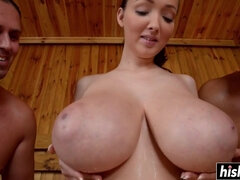 Busty Buffy Hot Sauna Sex