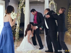 The Brother of the groom gives busty wife anal fuck of her life