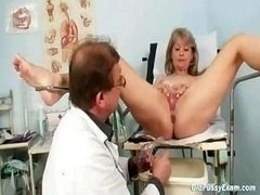 Grown-up Alena gyno pussy really clinic reassessment