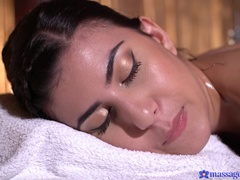 Massage Rooms (SexyHub): Blonde pleasures cute Romanian girl