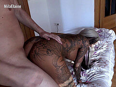 My filthy Hobby – mind-blowing tattooed babe in sixty nine
