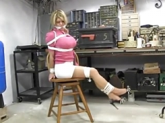Carissa montgomery in garage